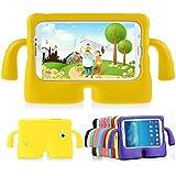 lioeo Funda para niños resistente a golpes Funda protectora de goma para Samsung Galaxy Tab 3/3Lite 7.0con Asa para tablet Samsung Galaxy Tab 3/3Lite de 7pulgadas
