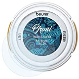 Bruni Schutzfolie kompatibel mit Beurer AS 50 Folie, glasklare Bildschirmschutzfolie (2X)