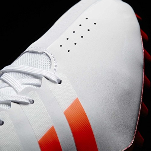 adidas Adizero Finesse, Chaussures d'Athlétisme Mixte Adulte Blanc (Ftwr White/solar Red/silver Metallic)