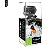 Review XP 4K Ultra HD Wi-Fi Waterproof Action Camera 16MP SONY Sensor 30fps Sports Video Underwater Camcorder 170 Wide Angle Lens Dual Lens Screen Battery Accessories Kit- Black