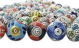 Indianbeautifulart Assortiment Multicolor Tiroirs en céramique Boutons de Portes...