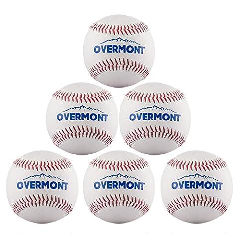 Overmont Baseball Training Ball Anfänger Baseballbälle Softball