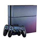 eXtremeRate® Velluto e Blu Camomilla piena Faceplates Skin Sticker Vinly Decal Cover per Dualshock Playstation 4 Console PS4 Slim Controller