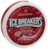 Ice Breakers Cinnamon - Sugar Free Mints; Imported from USA - 42 Grams.