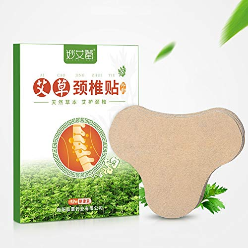 Weixinbuy 12 stücke Cervical Patch Schmerzen Steife Linderung Fördern Die Durchblutung Pflanze Herb Patch Aufkleber -