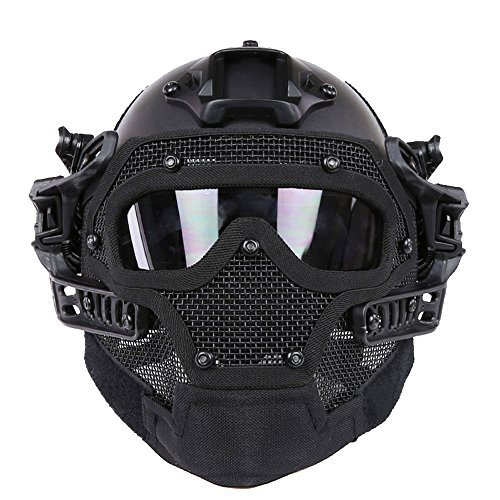 kss-fast-tactical-helmet-combined-with-full-mask-and-goggles-for-airsoft-paintball-cs-bk-