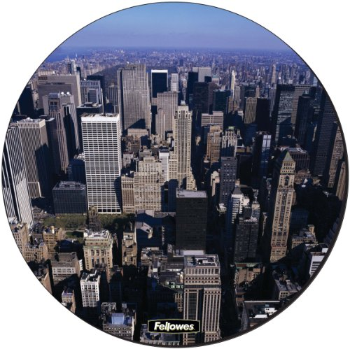 fellowes-round-brite-mat-mouse-pad-city-scape