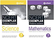 NCERT Exemplar Problems-Solutions for Science / Mathematics  class 7 (Set of 2 books)