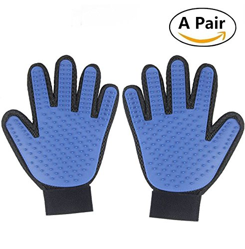wangstar Pet Grooming Gloves,Best Cat Dog Brush
