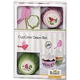 Set de décoration CupCake « Cottage Garden »