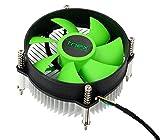 #6: Tnex Metal CPU Cooler Fan (8 cm x 4 cm x 10 cm, Black)