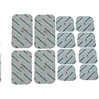 12 Pieces Mixed Stud Tens Pads For Beurer and Sanitas