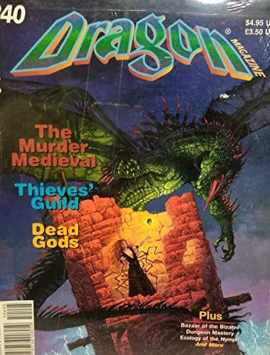 TSR 240 Dragon Magazine n°240
