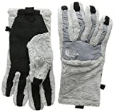 THE NORTH FACE Damen W Denali Thermal ETIP Glove Handschuhe, Grau/Schwarz-lunar Ice Grey, M