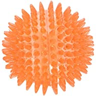 Rosewood Jolly Doggy Catch and Play Spikey Rubber Ball for Dogs, 8 cm