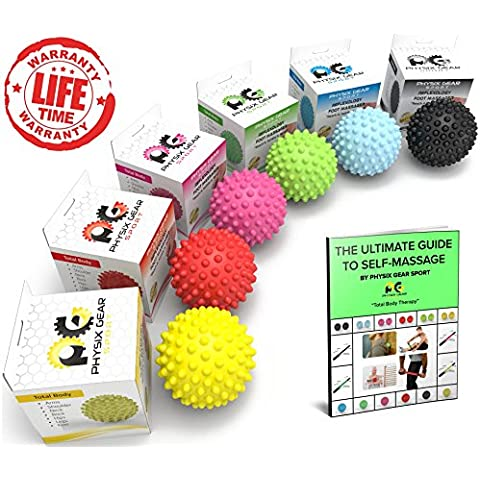 Lacrosse Balls & Spiky-Rullo per massaggi, ad