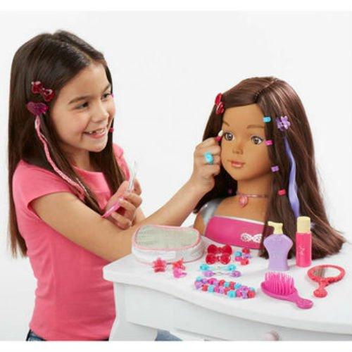 Dream Dazzlers Brunette Styling Head by Dream