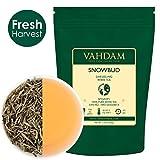 VAHDAM, feuilles de thé blanc Snobud de Darjeeling (25 tasses), feuille lâche de thé blanc, provenant directement de domaines en altitude de l'Himalaya, 50gr