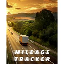Mileage Tracker: Vehicle Mileage & Gas Expense Tracker Log Book For Small Businesses (V1)