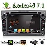 Android 7.1 Quad Core 7' GPS autoradio per Opel Astra Vectra Zafira Antara corsa radio navigazione stereo audio e video color grigio libero macchina fotografica e di & Canbus