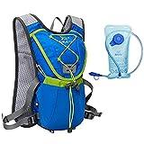Junletu Hydration Pack Trinkrucksack Hydration System for Marathon Running Cycling Hiking Climbing - 2L Hydration Included