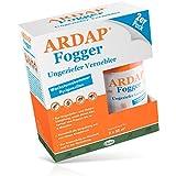 ARDAP Fogger / Zuverlässiger Vernebler zur Ungeziefer- und Flohbekämpfung für die Anwendung im Haushalt sowie in der Tierhaltung - wirksamer Schutz für bis zu 6 Monate / 2 x 100 ml
