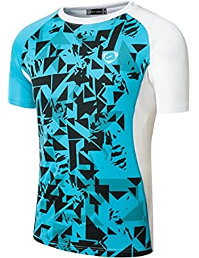 Sportides Boy Quick Dry Active Sport Short Sleeve Breathable T-Shirt Casual tee Top LBS701