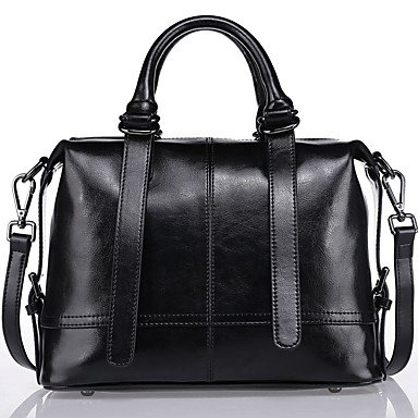 YJIUX Frauen Schultertasche PU alle SeasonsWedding Geburtstag Event / Party Business Casual Bühne offizielles Büro & Karriere Schule Beach Party & Abend Black