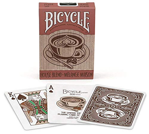 1038264-Pokerkarten Bicycle House Blend, mehrere, 62.5x88 mm ()