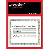 Simoni Racing PBSR/2 Porte vignette d'assurance, noir/rouge