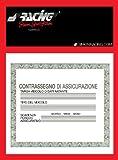 Simoni Racing PBSR/2 Porta Assicurazione, Nero/Rosso