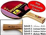 Ludomax Tischtennisschläger Pioneer 2-Star