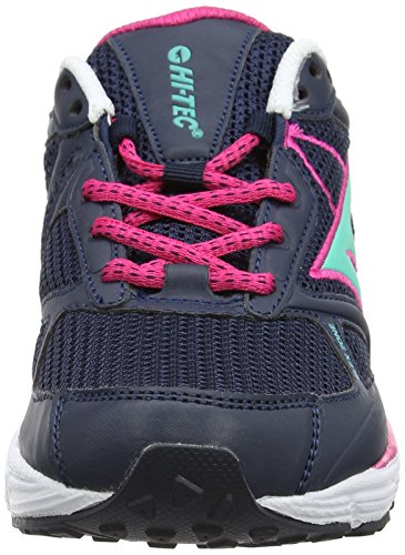 Hi-Tec R200, Chaussures Multisport Outdoor Femme Bleu (Navy/hot Pink/aqua 032)