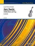 Jazz Duets: 25 leichte Stücke in der 1. Lage. Band 1. 2 Violoncelli. (Schott Popular Music)