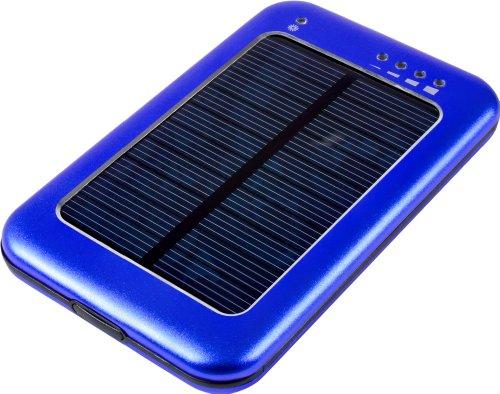 MTEC Solar Ladegerät *5600mAh* / externer Akku für Samsung Galaxy S5 / S4 Mini / S3 / S3 Mini / S2 / Note / Note 2 / Note 3 / Ace / Y / Galaxy Tab / Sony Xperia Z2 / Z1 / Compact / Z / M / HTC One / M8 / One mini / One mini 2 / Desire 310 / Motorola Moto G / Moto X / LG G3 / G2 / G2 Mini / Google Nexus 5 / L90 / Huawei Ascend Y530 / Y300 / G6 / 6 / Apple iPhone 4 / 5 / 5S / 5C / iPad 4 / iPad Air / iPad mini 2 / iPad mini / iPad 3 / Nokia Lumia 1520 / 630 / 520 - Blau (Star Gps Ein Portable)