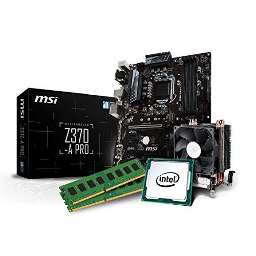 Kiebel Aufrüst Kit (v8): [184567] Intel Core i7-8700 6-Kerner (6x3.2 GHz) | 16GB DDR4-2400 MHz | Intel HD Grafik | Sound | MSI Z370-A Pro | Aufrüst Bundle komplett vormontiert und getestet