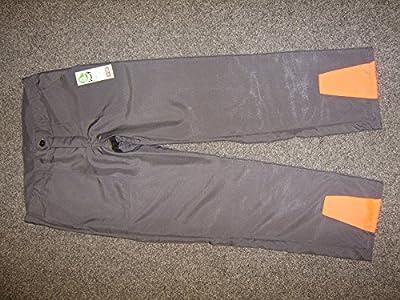 graue Schnittschutzbundhose Schnittschutzhose Forsthose Klasse 1 leicht deutscher Hersteller Grösse 48