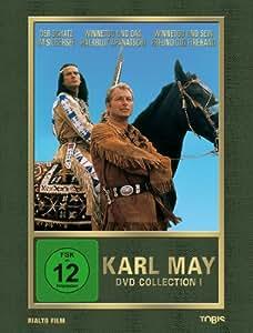 Karl May DVD-Collection 1 (Der Schatz im Silbersee / Winnetou und das Halbblut Apanatschi / Winnetou und sein Freund Old Firehand) (3 DVDs)