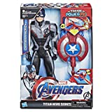 Hasbro Avengers E3301100 - Titan Hero Power FX Captain America, Actionfigur