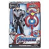 Hasbro Avengers E3301100 - Titan Hero Power FX Captain America, Actionfigur