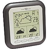 Technoline WetterDirekt Wetterstation WD 1202 mit Innen- / Außentemperaturanzeige, Wettervorhersage für 3 Tage und Wetterdaten für über 50 Regionen