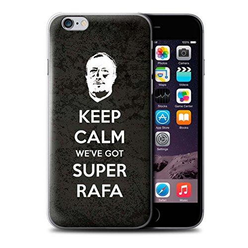 Offiziell Newcastle United FC Hülle / Case für Apple iPhone 6 / Spanisch Maestro Muster / NUFC Rafa Benítez Kollektion Ruhig Bleiben