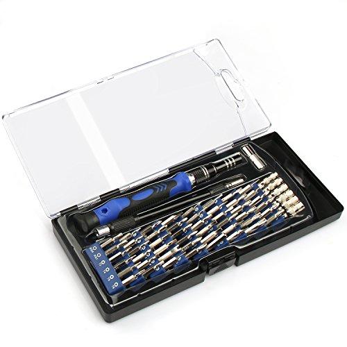 VOXON Set di Punte per Cacciavite Magnetico da 56 Pezzi con Cacciavite Professionale XR Cacciavite di Precisione Kit di Riparazione per Elettronica