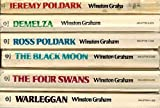 the poldark saga ross poldark; demelza; jeremy poldark; warleggan; the black moon; the four swans pbs tv series 6 volume boxed set volumes 1 6