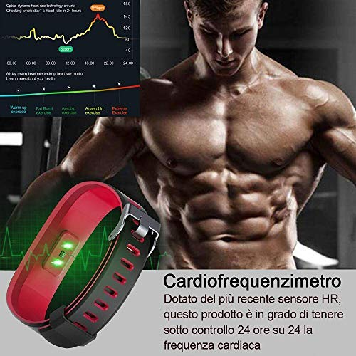 Zoom IMG-3 homscam orologio fitness tracker braccialetto