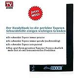HandyHook Tapeten Schneidehilfe/Tapezier Werkzeug Set - zeitsparend; professionell Tapete schneiden/anbringen