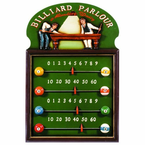 RAM Gameroom Products Pub Sign Scoreboard, Billiard Parlour by RAM Gameroom