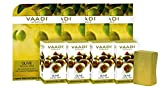 Vaadi Herbals Value Olive Facial Bars with Cane Sugar Extract, 25gm x 4