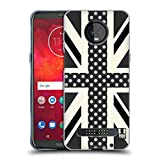 Head Case Designs Onyx Polka Dots Union Jack Collection