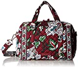 Best Iconic Handbags - Vera Bradley Iconic 100 Handbag, Signature Cotton, Bordeaux Review